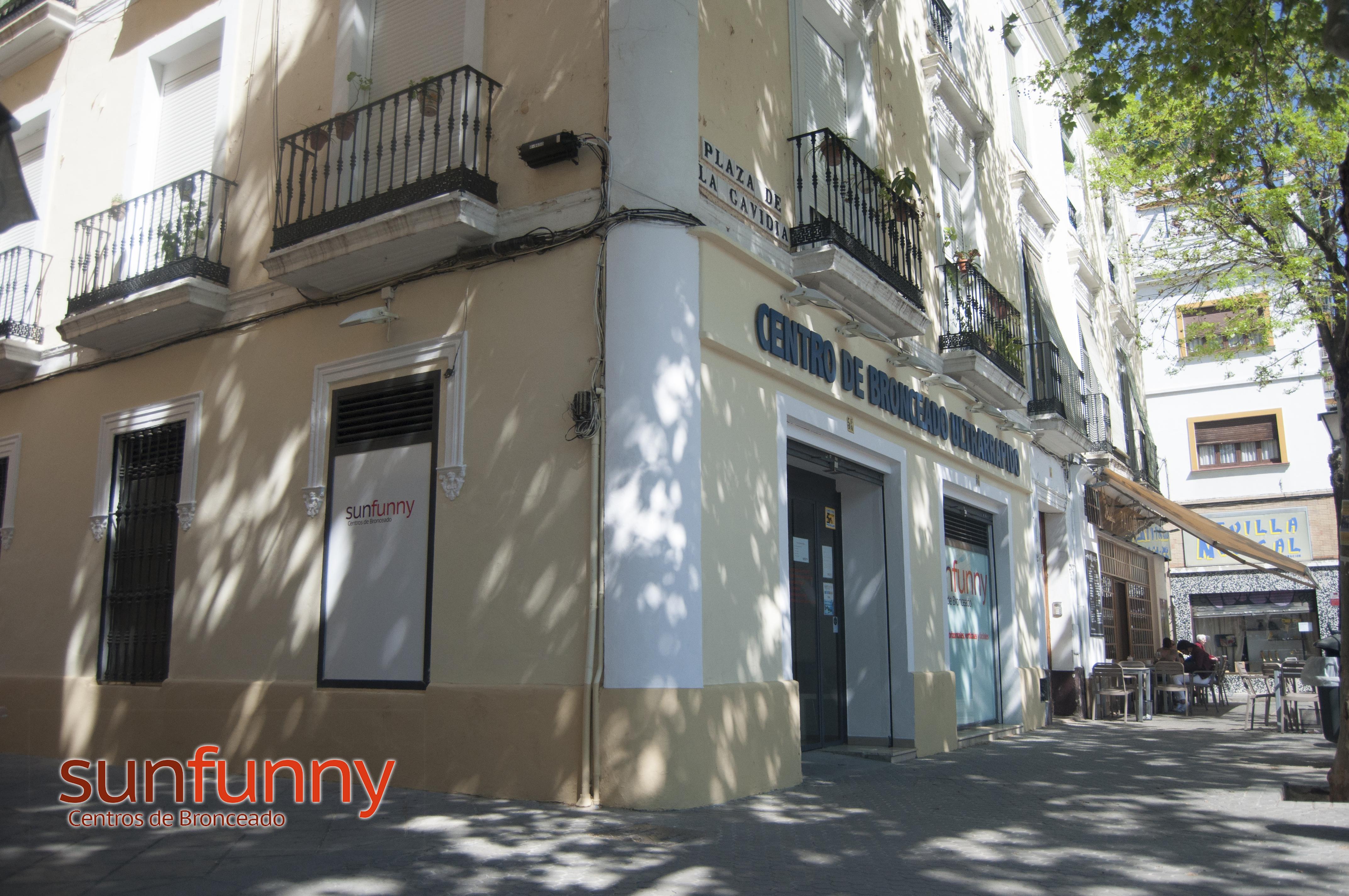 Centro de bronceado en el centro de Sevilla